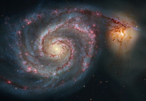 galaxie-m51-hubble